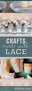 40 Adorable DIY Projects with Lace You'll Fall in Love