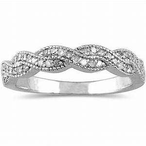 Antique infinity design diamond wedding ring band jeenjewels for Wedding ring infinity design