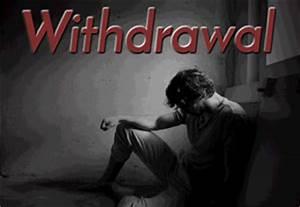 Symptoms of Drug Withdrawal
