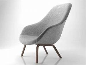 About A Lounge Chair Aal93 3d Model