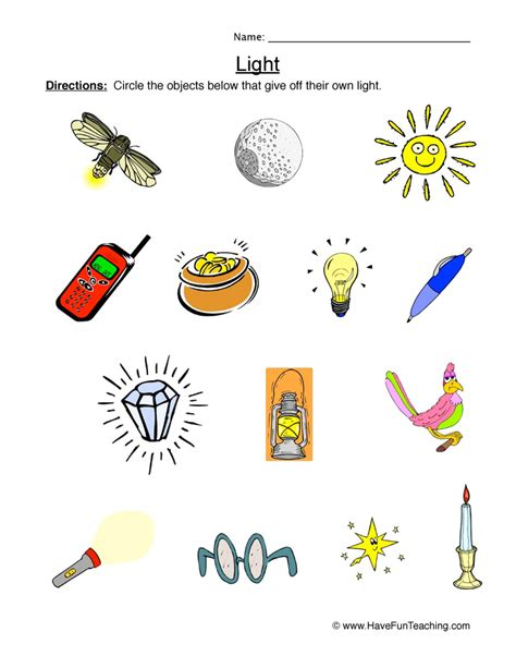 light and energy worksheet decoratingspecial com