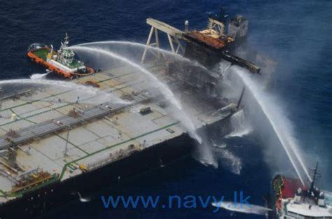 Sri Lanka Douses Another Fire On New Diamond Tanker.