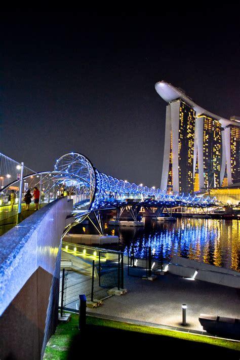 Discover 1472 fun things to do in singapore, singapore. The Double Helix Bridge - Marina Bay, Singapore - World ...