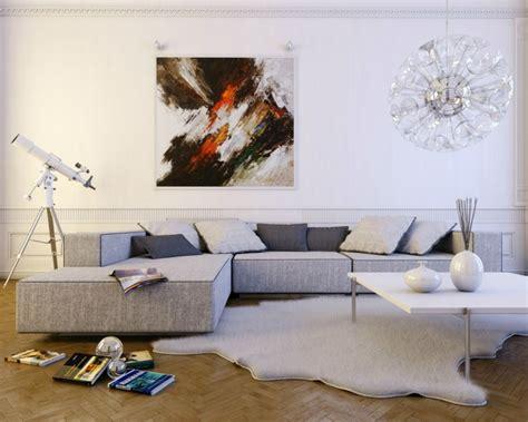 deco salon avec canape gris déco moderne pour le salon 85 idées avec canapé gris