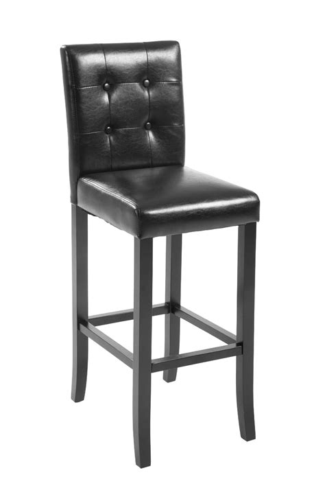 leather counter chairs bar stool burda kitchen counter breakfast stool padded 3698