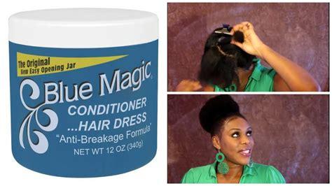 How I Grease My Scalp Using Blue Majic