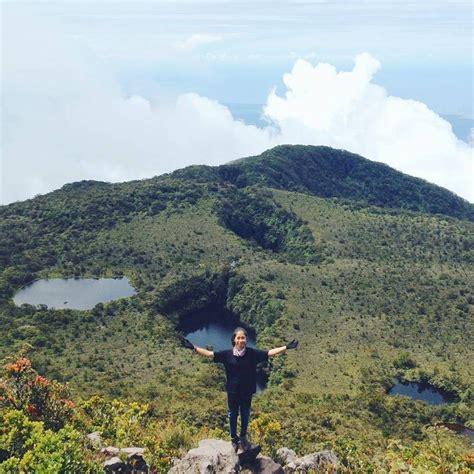 talamau gunung  telaga terbanyak  indonesia