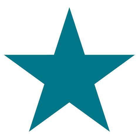 large star large shape clipart best