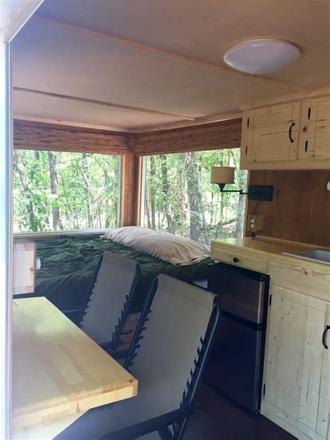 cargo trailer tiny house conversion  sale