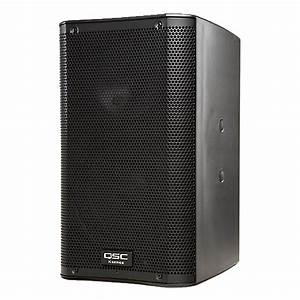 Qsc, Speaker, Portable, 8, U0026quot, 2-way, Powered, 1000w, Abs