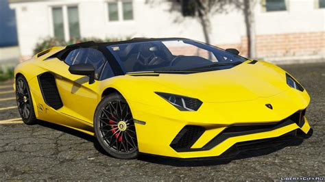 165 Lamborghini Car For Gta 5