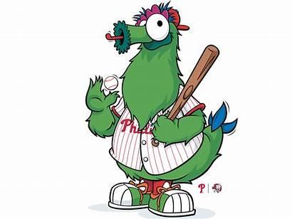 Phanatic Philly Phillies Mascot Vector Dribbble Philadelphia