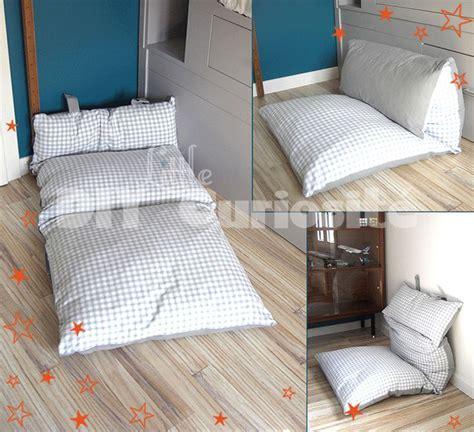 faire des coussins de canapé canape en coussin de sol maison design sphena com