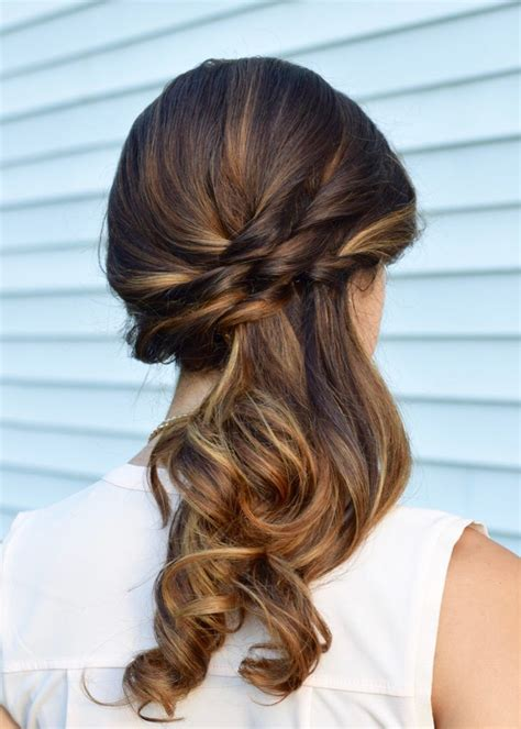 ideas  side ponytail hairstyles  pinterest