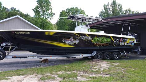 Walleye Fishing Boat Wraps by Bonehead Fishing Team Boat Wrap By Best Signs Youtube