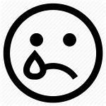 Sad Face Icon Emoji Feeling Expression Emotion