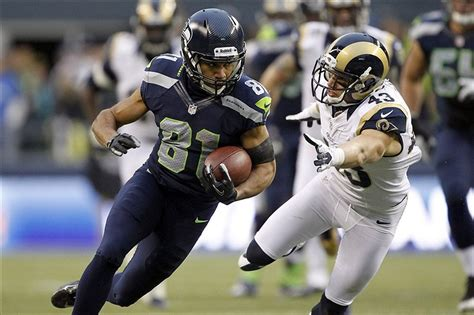 broadcast information  seahawks rams game