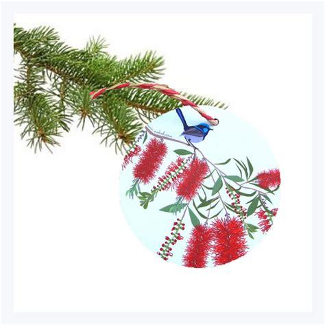 aussie christmas ornament wren  australian gifts
