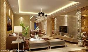 modern home false ceiling decorating ideas pictures With sweet and beautiful wall decor for living room
