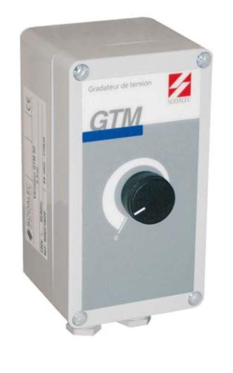 variateur pour ventilateur de plafond variateur manuel gtm sodalec