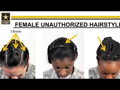 armys  hair rules awkward  straight  racist