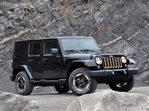 Jeep Wrangler Unlimited Black 2015