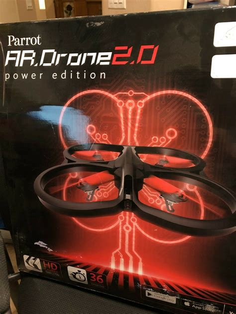 parrot ar drone  quadricopter power edition flying hd camera twitmarkets