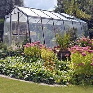 Serre De Jardin ACD Prestige Paroi Oblique Serre Jardin