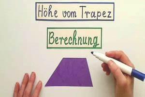 Höhe Vom Dreieck Berechnen : video h he vom trapez berechnen so geht 39 s ~ Themetempest.com Abrechnung