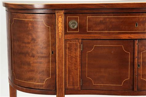 Federal Sideboard by Small American Federal Style Inlaid Sideboard Console C