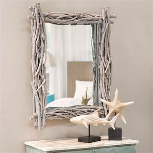 Miroir Fenetre Maison Du Monde : decoration bois flott le blog carresol tendance bois d coration ~ Teatrodelosmanantiales.com Idées de Décoration