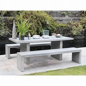Table Beton. shop monobloc big concrete coffee table d 09045 on ...