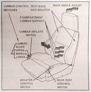 1985 Power Seat Back  Bolster  Lumbar Wiring Issues