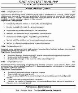 Senior Manager Resume Sample  U0026 Template