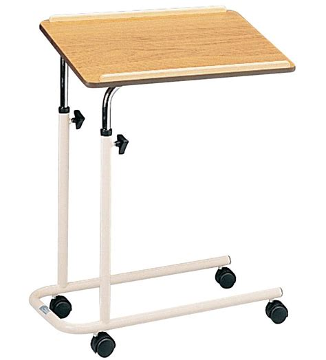 shop table on wheels overbed table with castors 751c furniture shop