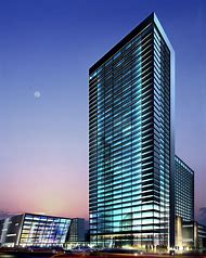 Tall Building with Glass