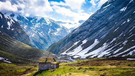 norway mountains landscape  ultra hd desktop wallpaper