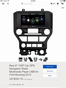 2015 Mustang Base Radio Upgrade To Touchscreen