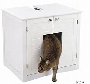 Schrank Fuer Katzenklo : katzentoilette im schrank katzenklo im katzenschrank verstecken mit stil ~ Frokenaadalensverden.com Haus und Dekorationen