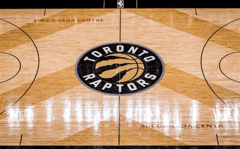 Raptors Home Court Gets New Design With Introduction Black