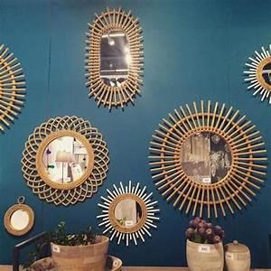 Miroir En Rotin : wishlist un fauteuil rotin et un miroir assorti pour ma deco ~ Nature-et-papiers.com Idées de Décoration