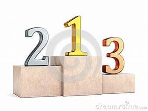 Numbers On Pedestal Stock Photo - Image: 49129110