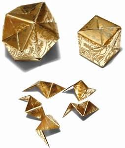 Origami Boule De Noel : le blog de loonie boules de no l en origami ~ Farleysfitness.com Idées de Décoration
