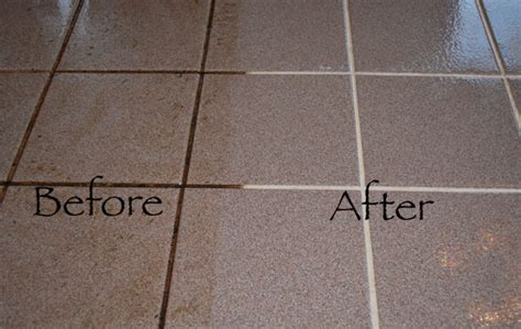clean tile grout simply  effective