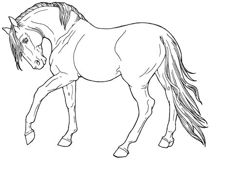 horse coloring pics good   print coloring pages