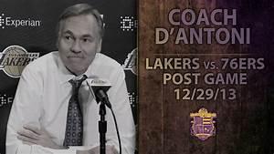 Lakers Vs 76ers Coach D39Antoni On Kendall Marshall Ryan