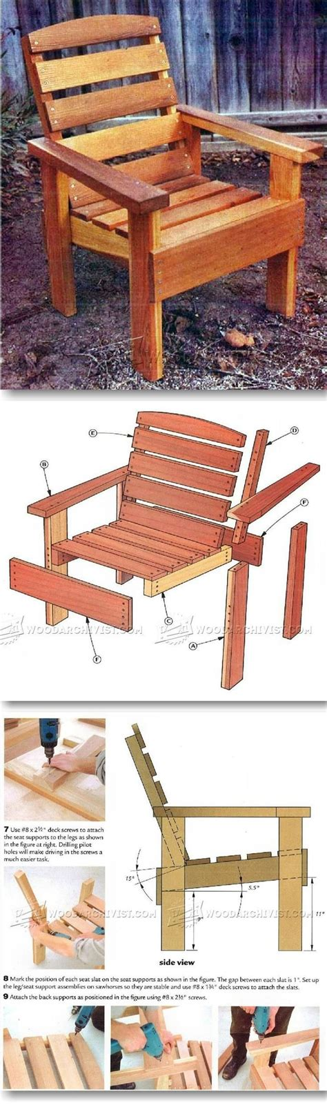 outdoor furniture plans ideas  pinterest