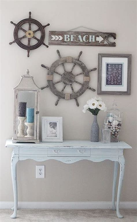 A wide variety of rustic wall decor options are available to you 52 DIY Ideas & Tutorials for Nautical Home Decoration - Page 22 - Foliver blog