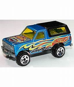 Hot Wheels 2003 Final Run Ford Bronco 6/12 Blue #200 Suv - Buy Hot Wheels 2003 Final Run Ford ...
