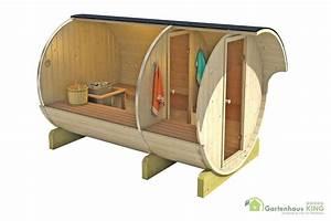 Fass Als Gartenhaus : finn art fass sauna kari 8 thermoholz gartenhaus ~ Markanthonyermac.com Haus und Dekorationen